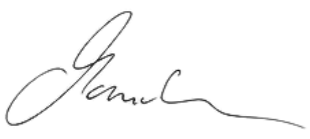 Unterschrift Manuela